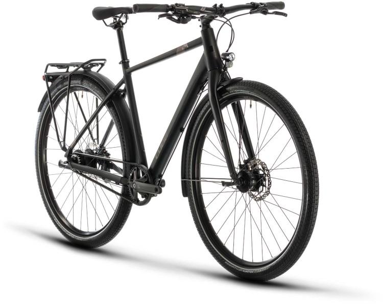 Cube Travel Pro black n brown 2020 - Bicicleta Trekking Hombres