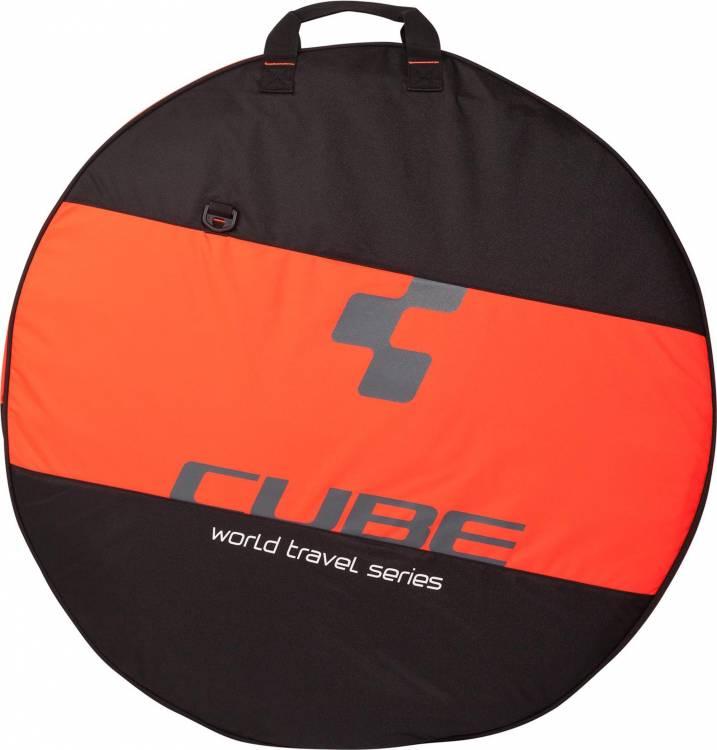 "Bolsa para neumático CUBE 26""-29"" black n flashred"