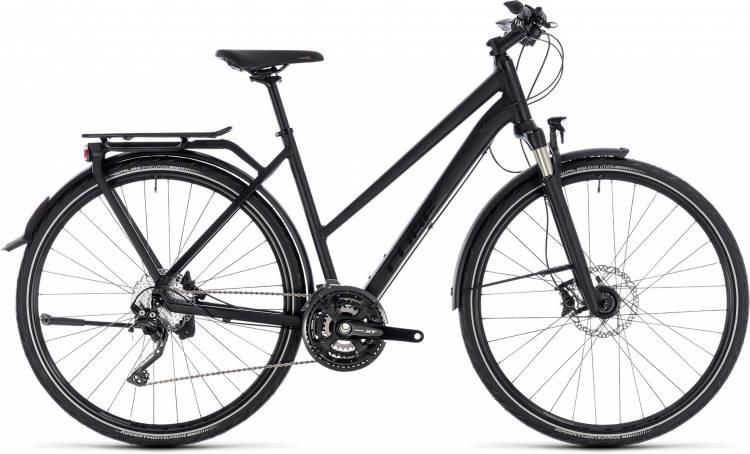 Cube Kathmandu SL black edition 2018 - Bicicleta Trekking Damas Trapecio