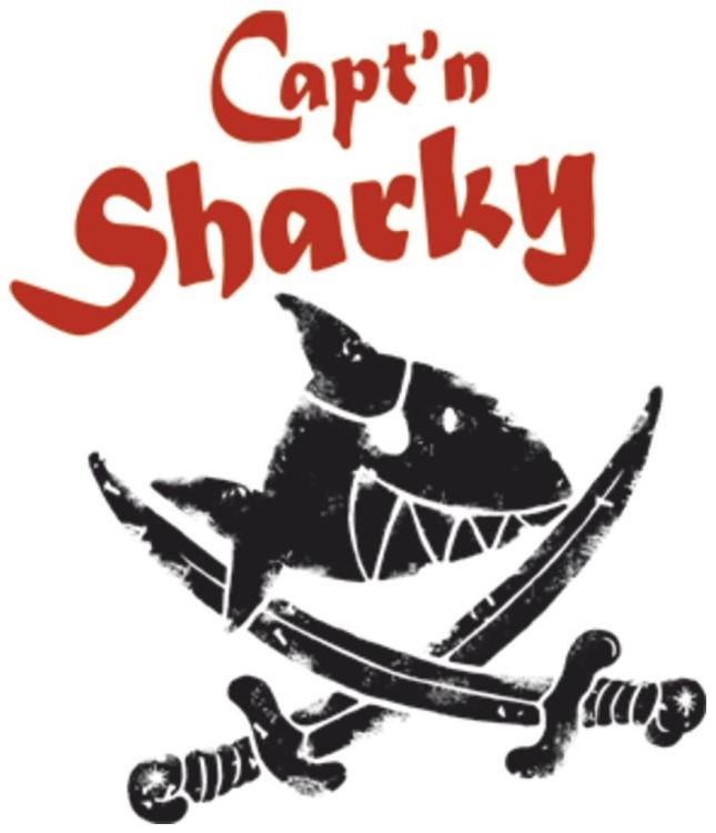 Candado de cadena Abus Kombi 1510 Capitán Sharky