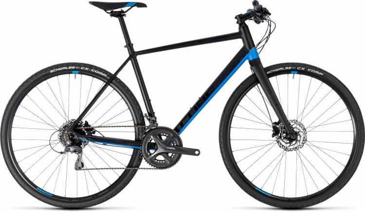 Cube SL Road black n blue 2018 - Bicicleta Fitness Hombres
