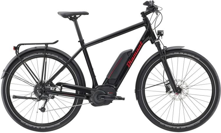Diamant Elan+ HER Tiefschwarz 2020 - Bicicleta-Eléctrica Trekking Hombres