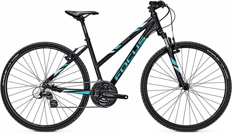 Focus Crater Lake Elite black 2017 - Bicicleta Cross Damas Trapecio