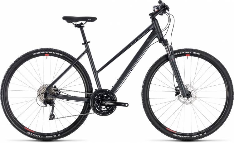 Cube Nature EXC iridium n red 2018 - Bicicleta Cross Damas Trapecio